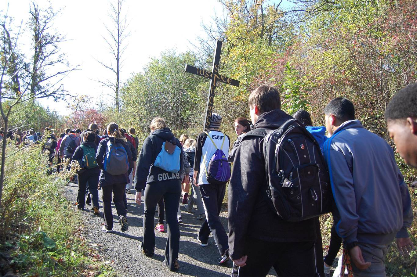 "Banner Image for On October 14, we ""Walk with Christ"""